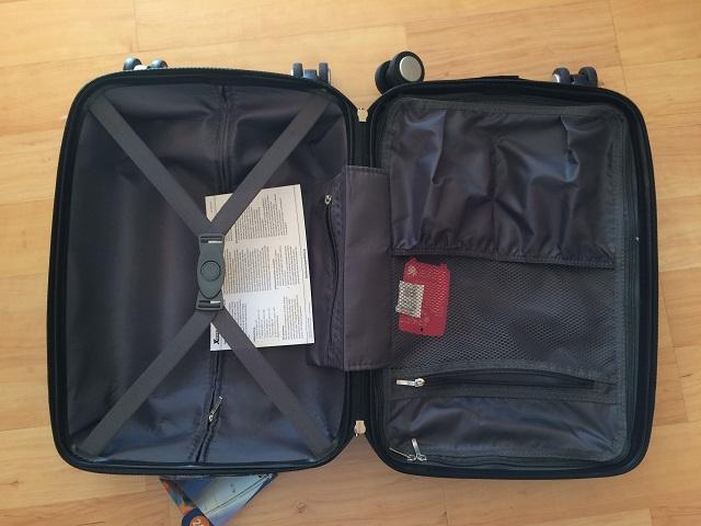 Innenaufbau-Xcase-Kofferset